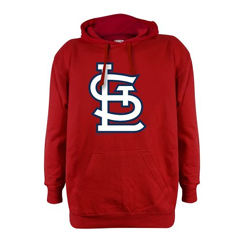 Men's Stitches St. Louis Cardinals Pullover Fleece Hoodie