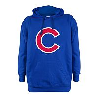 Men's Stitches Chicago Cubs Pullover Fleece Hoodie