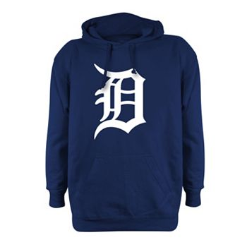 best service 61c04 259fc Men s Stitches Detroit Tigers Pullover Fleece Hoodie