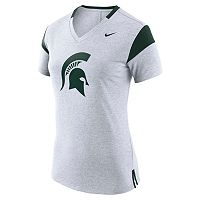 Women's Nike Michigan State Spartans Fan Top
