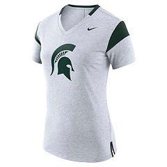 Women's Nike Michigan State Spartans Fan Top