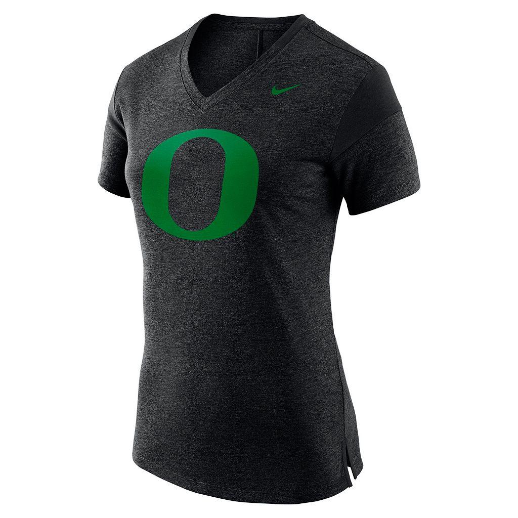 Women's Nike Oregon Ducks Fan Top