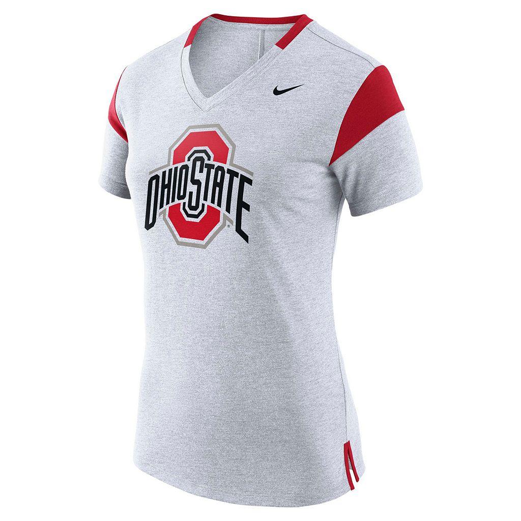 Women's Nike Ohio State Buckeyes Fan Top