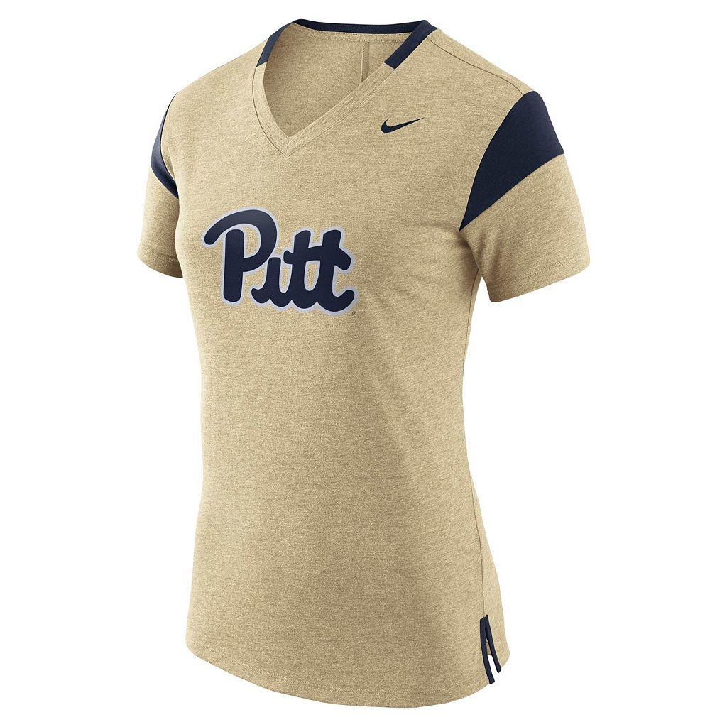 Women's Nike Pitt Panthers Fan Top