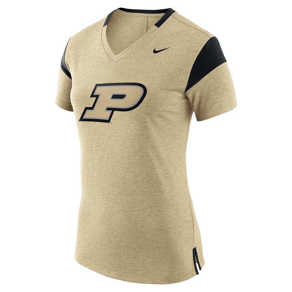 Women's Nike Purdue Boilermakers Fan Top