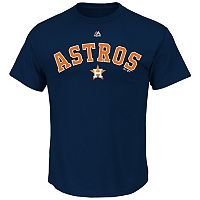 Men's Majestic Houston Astros Series Sweep Tee