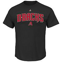 Men's Majestic Arizona Diamondbacks Series Sweep Tee