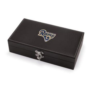 Picnic Time Los Angeles Rams Syrah Wine Accessory Box Set