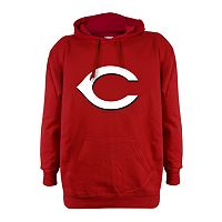 Men's Stitches Cincinnati Reds Pullover Fleece Hoodie