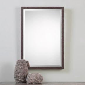 Michaela Textured Frame Wall Mirror