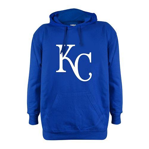 Men's Stitches Kansas City Royals Pullover Fleece Hoodie