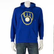 Men's Stitches Milwaukee Brewers Pullover Fleece Hoodie