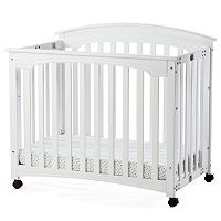 Child Craft Stanford Mini Folding Crib & Mattress