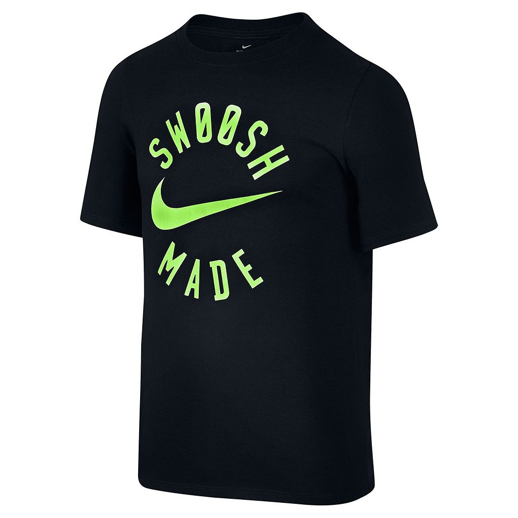 Boys 8-20 Nike Swoosh Made Tee