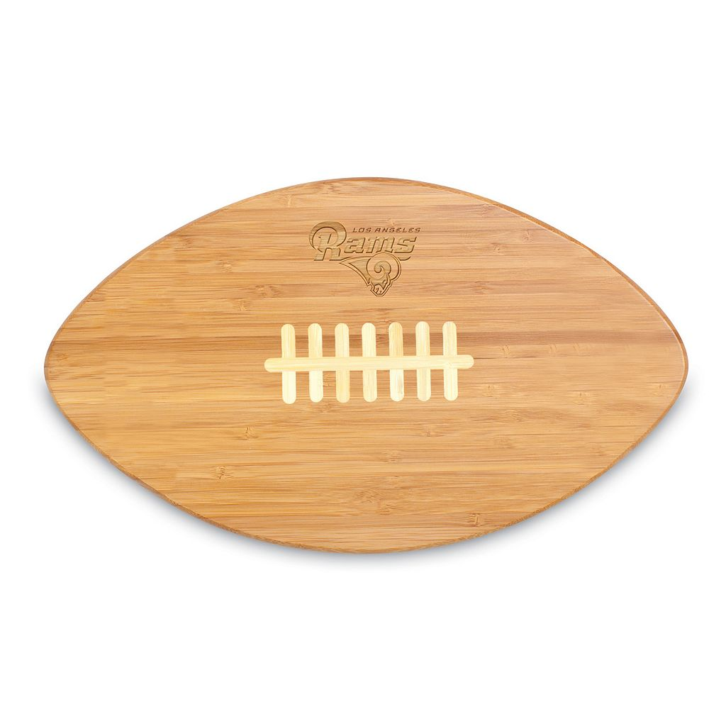 Picnic Time Los Angeles Rams Touchdown Cutting Board