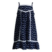 Girls 4-6x Youngland Crochet Lace Trim Sundress