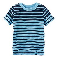 Boys 4-8 Carter's Blue Short Sleeve Striped Tee