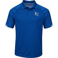 Men's Majestic Kansas City Royals Outburst Polo