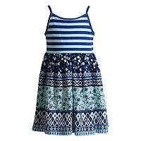 Girls 4-6x Youngland Mixed Media Sundress