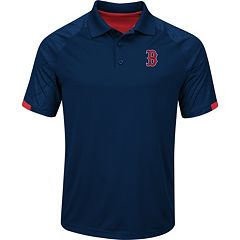 Men's Majestic Boston Red Sox Outburst Polo