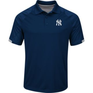 Men's Majestic New York Yankees Outburst Polo