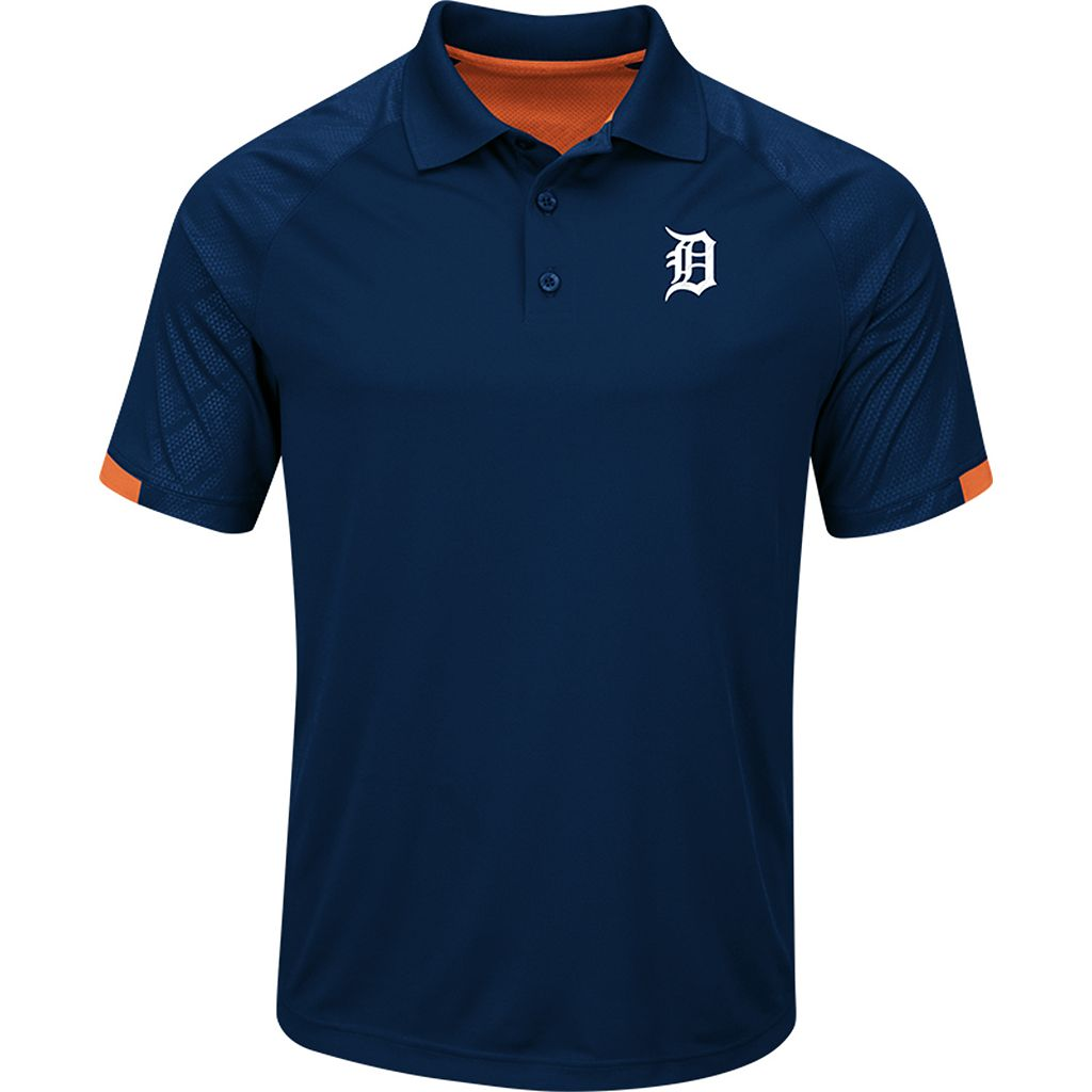 Men's Majestic Detroit Tigers Outburst Polo