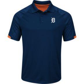 Men's Majestic Detroit Tigers Outburst Polo