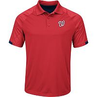 Men's Majestic Washington Nationals Outburst Polo