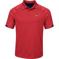 Men's Majestic St. Louis Cardinals Outburst Polo