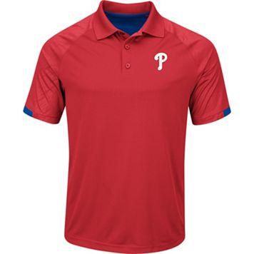 Men's Majestic Philadelphia Phillies Outburst Polo