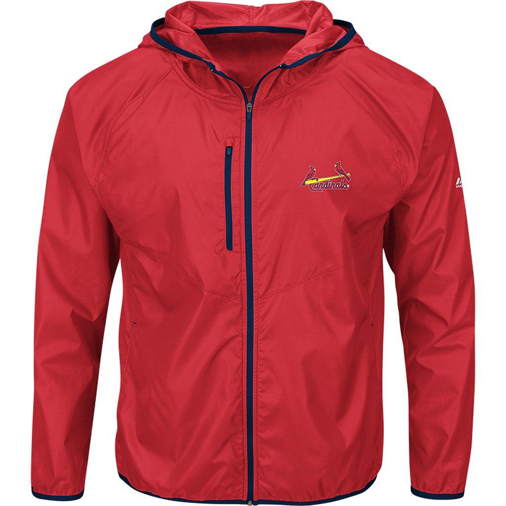 Men's Majestic St. Louis Cardinals Weakness is a Choice Jacket