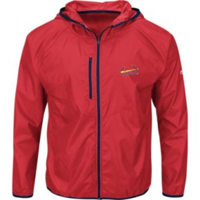 Men's Majestic St. Louis Cardinals Weakness is a Choice Jacket