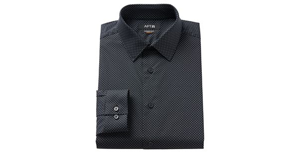 Men 39 S Apt 9 Slim Fit Premier Flex Collar Stretch Dress Shirt