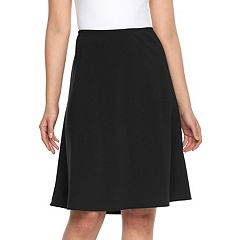 Petite Briggs Comfort Waist A-Line Skirt