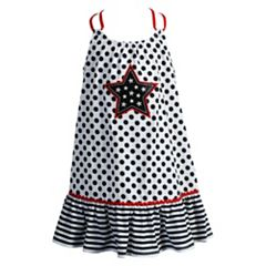 Girls 4-6x Youngland Star Applique Knit Sundress