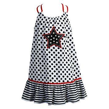 Girls 4-6x Youngland Star Applique Knit Sundress