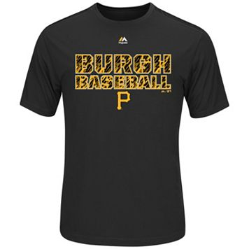 Men's Majestic Pittsburgh Pirates Our History Tee