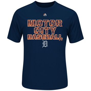 Men's Majestic Detroit Tigers Our History Tee