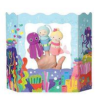 Ocean Adventures Finger Puppet Set by Manhattan Toy