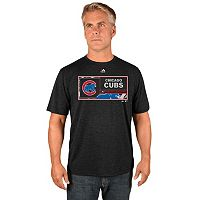 Men's Majestic Chicago Cubs Division Dominator Synthetic Tee