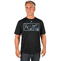 Men's Majestic Kansas City Royals Division Dominator Synthetic Tee