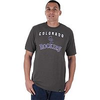 Men's Majestic Colorado Rockies Stoked Tee