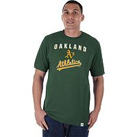 Men's Majestic Oakland Athletics Stoked Tee