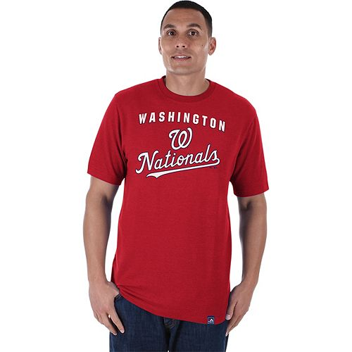 Men's Majestic Washington Nationals Stoked Tee