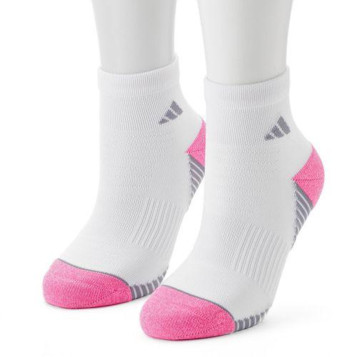 Women's adidas 2-pk. Speed Mesh Superlite Quarter Socks