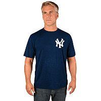 Men's Majestic New York Yankees Synthetic Wordmark Tee