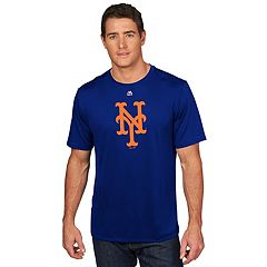 Men's Majestic New York Mets Synthetic Wordmark Tee
