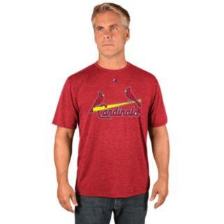 Men's Majestic St. Louis Cardinals Synthetic Wordmark Tee