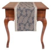 KAF HOME Paisley Jacquard Table Runner - 90""