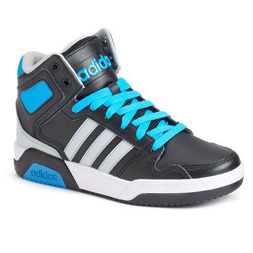 low priced 4f975 311da adidas NEO BB9TIS Boys Basketball Shoes
